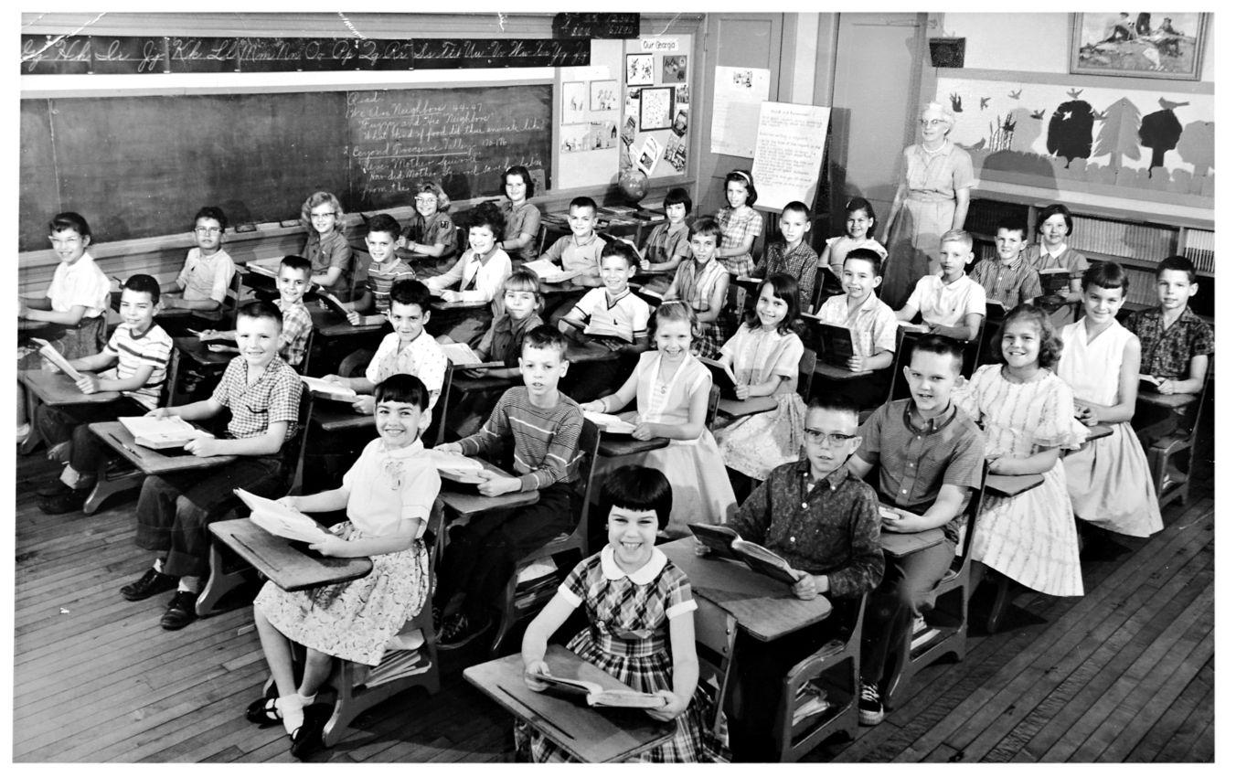 1959 elementary classroom